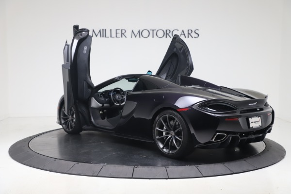 Used 2019 McLaren 570S Spider Convertible for sale $189,900 at Bugatti of Greenwich in Greenwich CT 06830 20