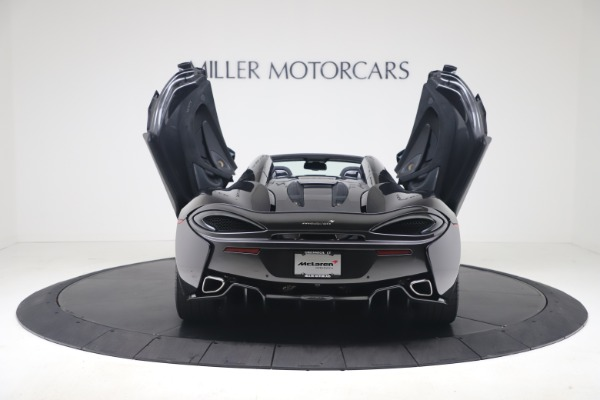 Used 2019 McLaren 570S Spider Convertible for sale $189,900 at Bugatti of Greenwich in Greenwich CT 06830 21