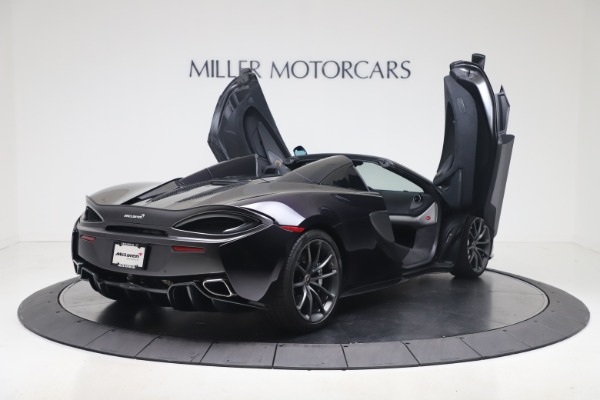 Used 2019 McLaren 570S Spider Convertible for sale $189,900 at Bugatti of Greenwich in Greenwich CT 06830 22