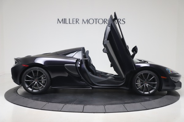 Used 2019 McLaren 570S Spider Convertible for sale $189,900 at Bugatti of Greenwich in Greenwich CT 06830 23