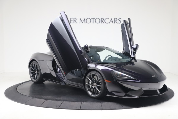 Used 2019 McLaren 570S Spider Convertible for sale $189,900 at Bugatti of Greenwich in Greenwich CT 06830 24