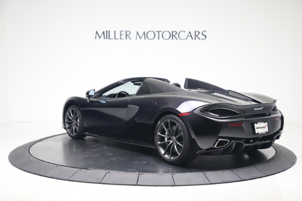 Used 2019 McLaren 570S Spider Convertible for sale $189,900 at Bugatti of Greenwich in Greenwich CT 06830 3