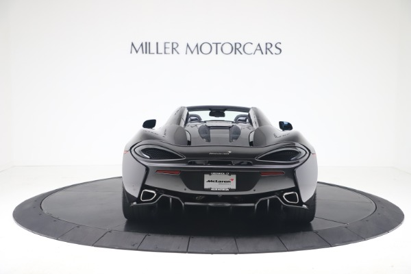 Used 2019 McLaren 570S Spider Convertible for sale $189,900 at Bugatti of Greenwich in Greenwich CT 06830 4
