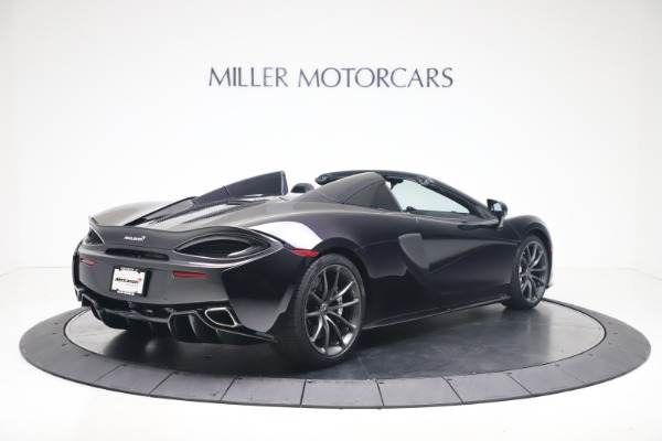 Used 2019 McLaren 570S Spider Convertible for sale $189,900 at Bugatti of Greenwich in Greenwich CT 06830 5