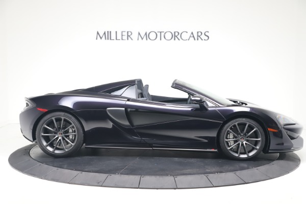 Used 2019 McLaren 570S Spider Convertible for sale $189,900 at Bugatti of Greenwich in Greenwich CT 06830 6