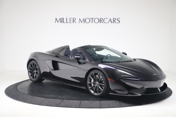 Used 2019 McLaren 570S Spider Convertible for sale $189,900 at Bugatti of Greenwich in Greenwich CT 06830 7