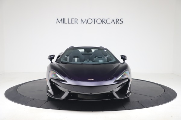 Used 2019 McLaren 570S Spider Convertible for sale $189,900 at Bugatti of Greenwich in Greenwich CT 06830 8