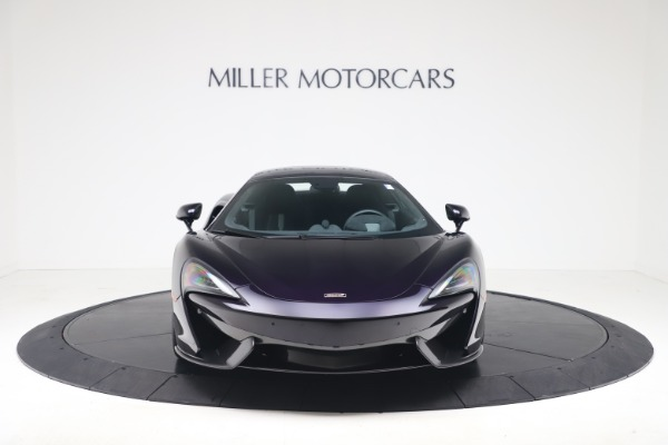 Used 2019 McLaren 570S Spider for sale $186,900 at Bugatti of Greenwich in Greenwich CT 06830 9