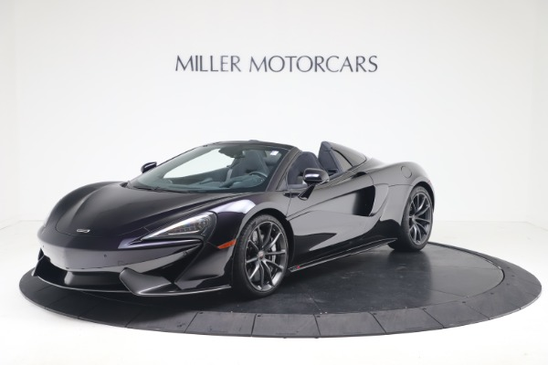 Used 2019 McLaren 570S Spider Convertible for sale $189,900 at Bugatti of Greenwich in Greenwich CT 06830 1