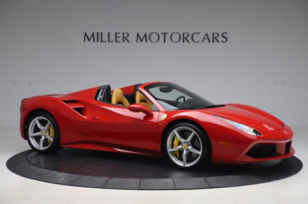 Used 2018 Ferrari 488 Spider Base for sale Sold at Bugatti of Greenwich in Greenwich CT 06830 10