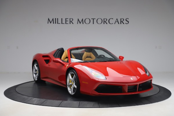 Used 2018 Ferrari 488 Spider Base for sale Sold at Bugatti of Greenwich in Greenwich CT 06830 11