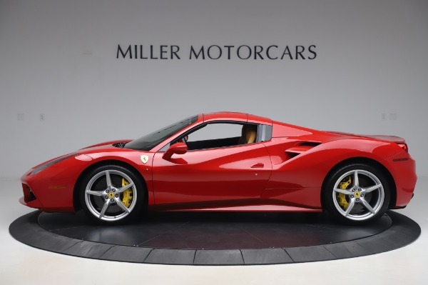 Used 2018 Ferrari 488 Spider Base for sale Sold at Bugatti of Greenwich in Greenwich CT 06830 13