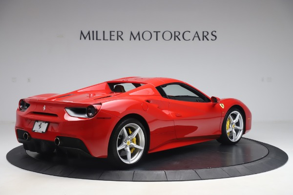 Used 2018 Ferrari 488 Spider Base for sale Sold at Bugatti of Greenwich in Greenwich CT 06830 15