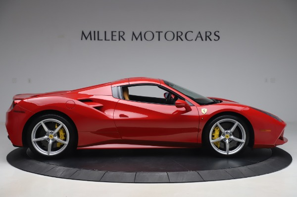 Used 2018 Ferrari 488 Spider Base for sale Sold at Bugatti of Greenwich in Greenwich CT 06830 16