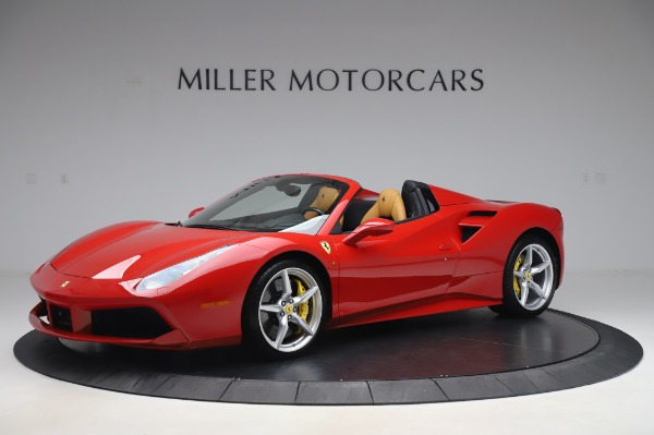 Used 2018 Ferrari 488 Spider Base for sale Sold at Bugatti of Greenwich in Greenwich CT 06830 2