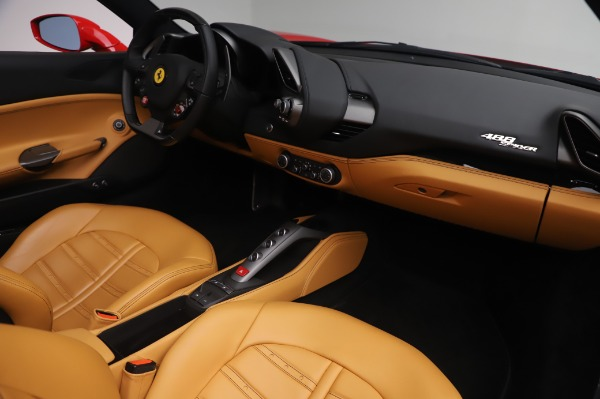 Used 2018 Ferrari 488 Spider Base for sale Sold at Bugatti of Greenwich in Greenwich CT 06830 23