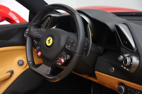 Used 2018 Ferrari 488 Spider Base for sale Sold at Bugatti of Greenwich in Greenwich CT 06830 26