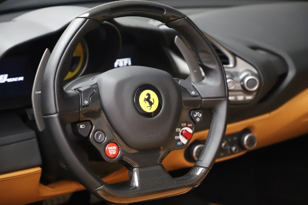 Used 2018 Ferrari 488 Spider Base for sale Sold at Bugatti of Greenwich in Greenwich CT 06830 27
