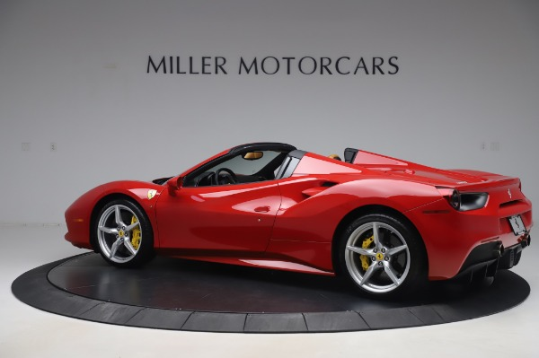 Used 2018 Ferrari 488 Spider Base for sale Sold at Bugatti of Greenwich in Greenwich CT 06830 4