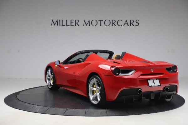 Used 2018 Ferrari 488 Spider Base for sale Sold at Bugatti of Greenwich in Greenwich CT 06830 5