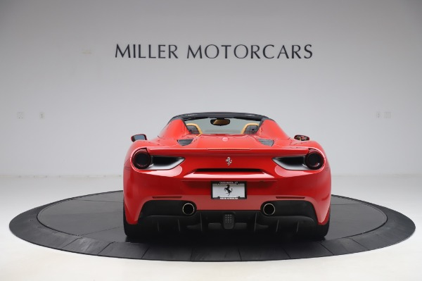 Used 2018 Ferrari 488 Spider Base for sale Sold at Bugatti of Greenwich in Greenwich CT 06830 6