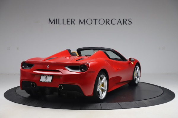Used 2018 Ferrari 488 Spider Base for sale Sold at Bugatti of Greenwich in Greenwich CT 06830 7