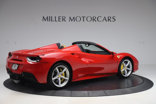Used 2018 Ferrari 488 Spider Base for sale Sold at Bugatti of Greenwich in Greenwich CT 06830 8