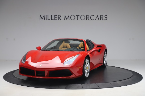 Used 2018 Ferrari 488 Spider Base for sale Sold at Bugatti of Greenwich in Greenwich CT 06830 1