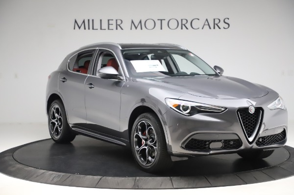New 2020 Alfa Romeo Stelvio Ti Q4 for sale Sold at Bugatti of Greenwich in Greenwich CT 06830 12