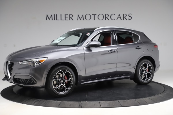 New 2020 Alfa Romeo Stelvio Ti Q4 for sale Sold at Bugatti of Greenwich in Greenwich CT 06830 3