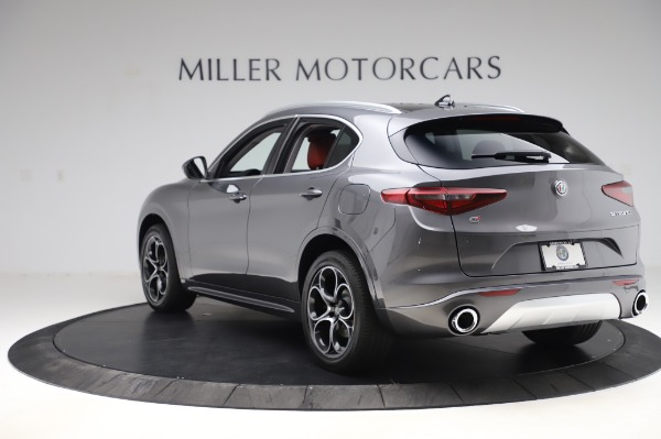 New 2020 Alfa Romeo Stelvio Ti Q4 for sale Sold at Bugatti of Greenwich in Greenwich CT 06830 6