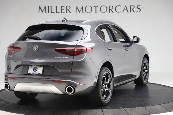 New 2020 Alfa Romeo Stelvio Ti Q4 for sale Sold at Bugatti of Greenwich in Greenwich CT 06830 8