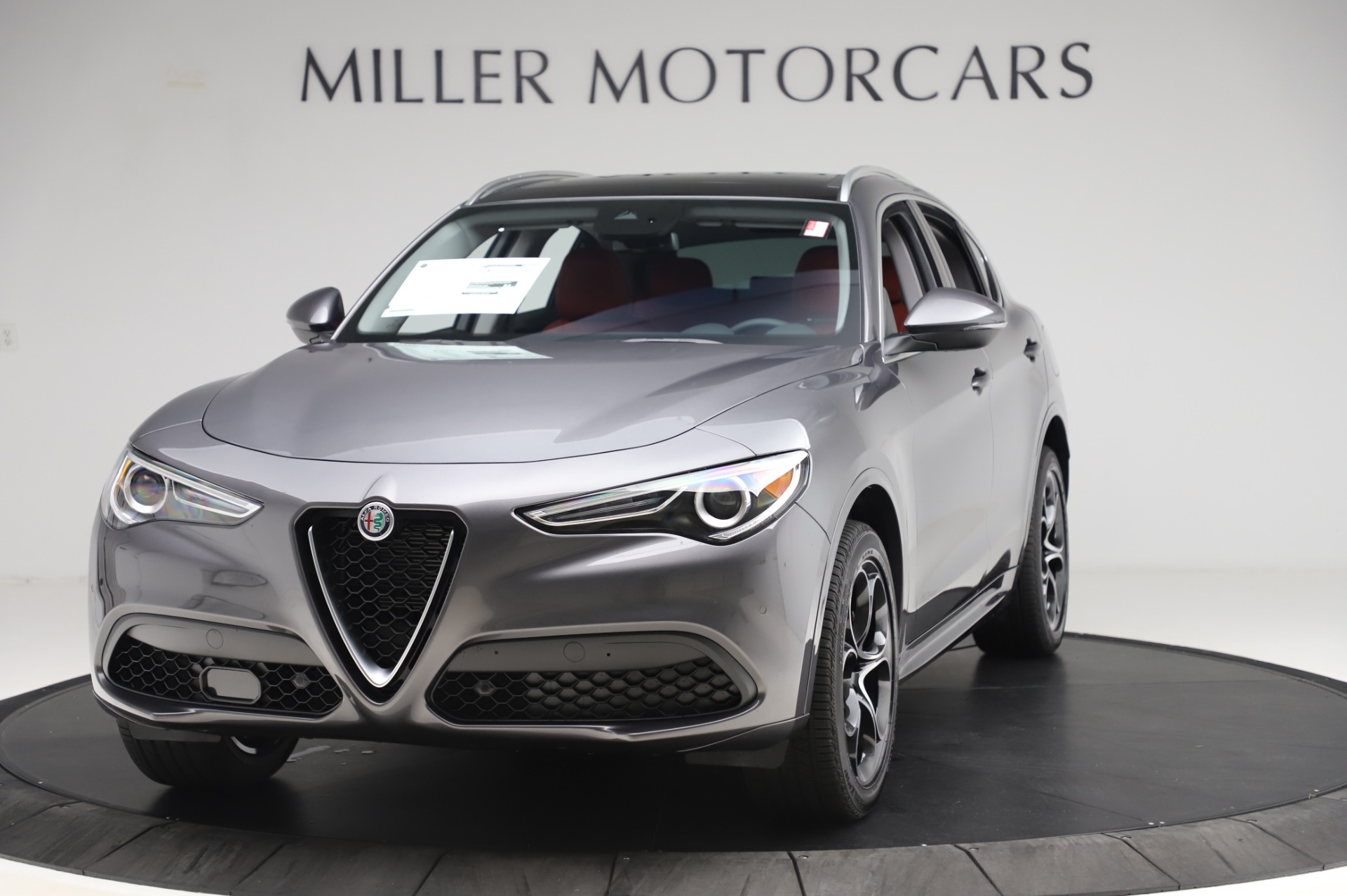 New 2020 Alfa Romeo Stelvio Ti Q4 for sale Sold at Bugatti of Greenwich in Greenwich CT 06830 1