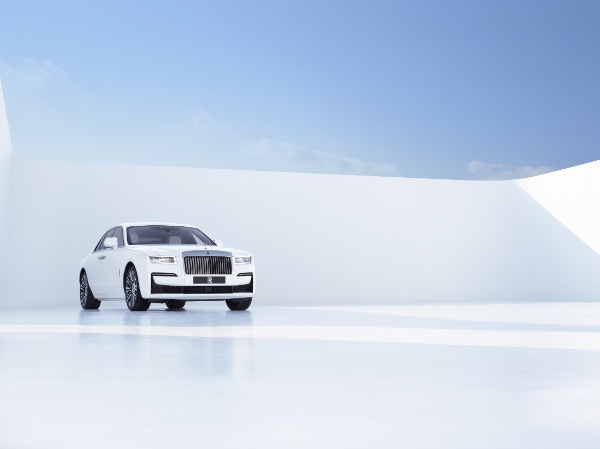 New 2021 Rolls-Royce Ghost for sale Call for price at Bugatti of Greenwich in Greenwich CT 06830 3