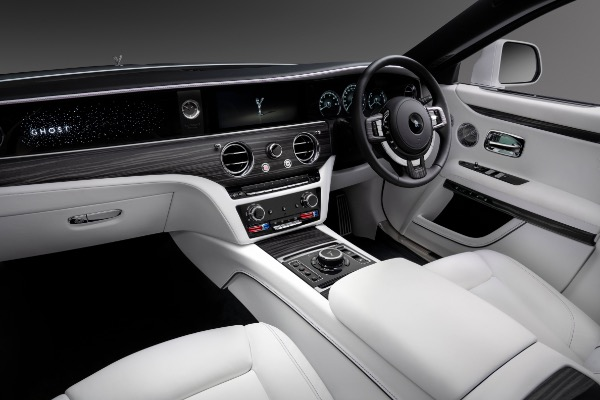 New 2021 Rolls-Royce Ghost for sale Call for price at Bugatti of Greenwich in Greenwich CT 06830 9