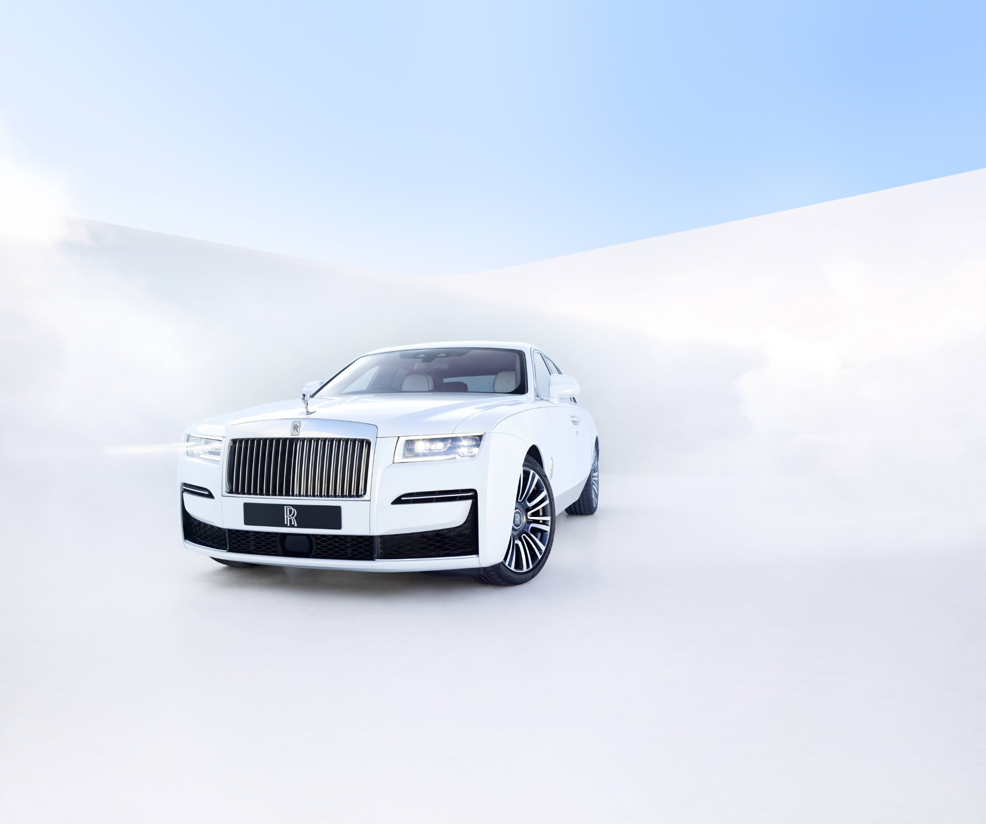 New 2021 Rolls-Royce Ghost for sale Call for price at Bugatti of Greenwich in Greenwich CT 06830 1
