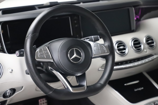 Used 2015 Mercedes-Benz S-Class S 550 4MATIC for sale Sold at Bugatti of Greenwich in Greenwich CT 06830 18