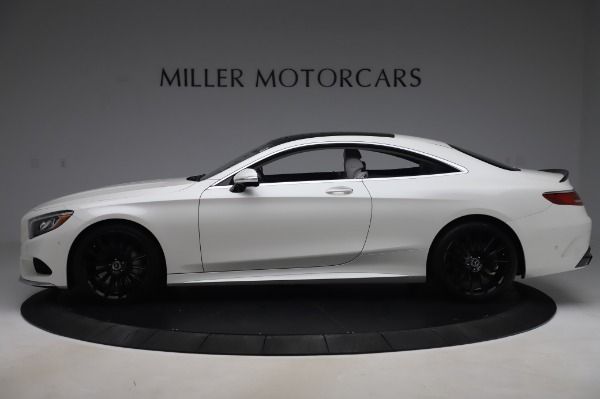 Used 2015 Mercedes-Benz S-Class S 550 4MATIC for sale Sold at Bugatti of Greenwich in Greenwich CT 06830 3