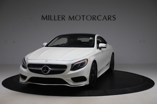 Used 2015 Mercedes-Benz S-Class S 550 4MATIC for sale Sold at Bugatti of Greenwich in Greenwich CT 06830 1