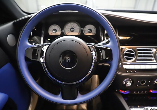 Used 2017 Rolls-Royce Wraith Black Badge for sale $269,900 at Bugatti of Greenwich in Greenwich CT 06830 16