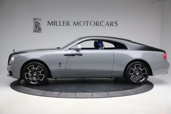 Used 2017 Rolls-Royce Wraith Black Badge for sale $269,900 at Bugatti of Greenwich in Greenwich CT 06830 4