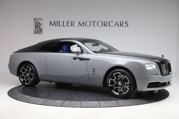 Used 2017 Rolls-Royce Wraith Black Badge for sale $269,900 at Bugatti of Greenwich in Greenwich CT 06830 9