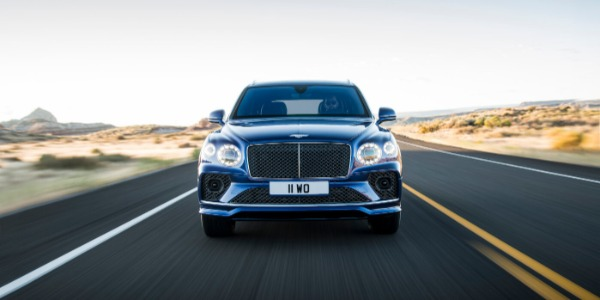 New 2021 Bentley Bentayga Speed for sale Call for price at Bugatti of Greenwich in Greenwich CT 06830 2