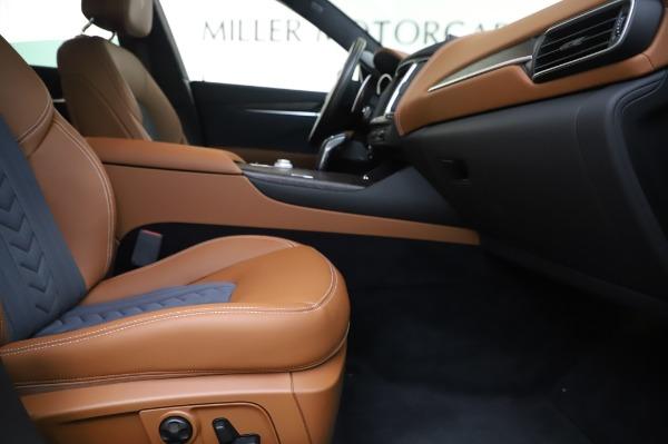 New 2020 Maserati Levante Q4 GranLusso for sale $88,635 at Bugatti of Greenwich in Greenwich CT 06830 23