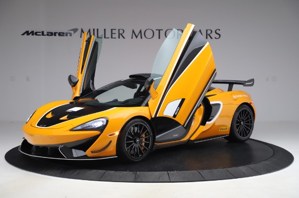 New 2020 McLaren 620R Coupe for sale Call for price at Bugatti of Greenwich in Greenwich CT 06830 10