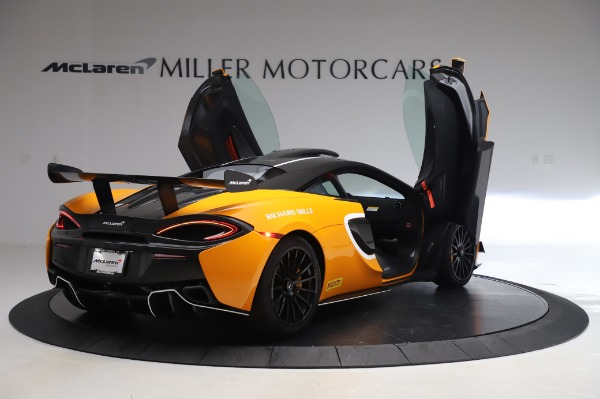New 2020 McLaren 620R Coupe for sale Call for price at Bugatti of Greenwich in Greenwich CT 06830 14