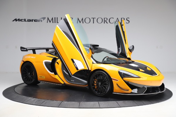 New 2020 McLaren 620R Coupe for sale Call for price at Bugatti of Greenwich in Greenwich CT 06830 16