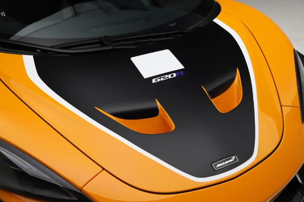 New 2020 McLaren 620R Coupe for sale Call for price at Bugatti of Greenwich in Greenwich CT 06830 17