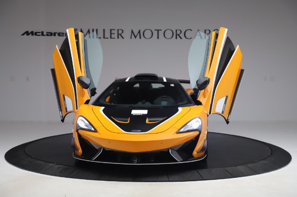 New 2020 McLaren 620R Coupe for sale Call for price at Bugatti of Greenwich in Greenwich CT 06830 9