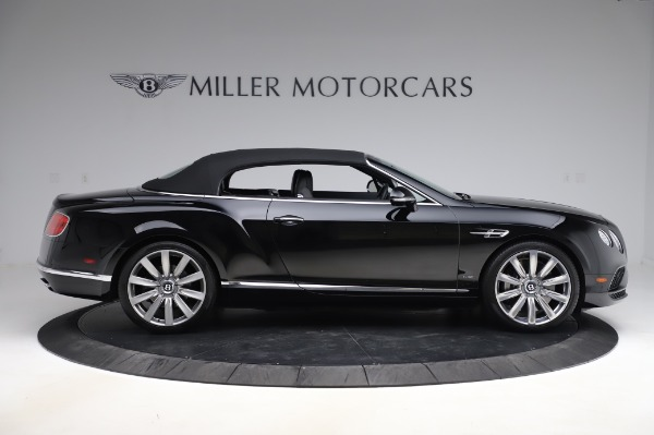 Used 2016 Bentley Continental GTC W12 for sale Sold at Bugatti of Greenwich in Greenwich CT 06830 18